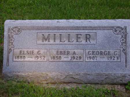 MILLER, GEORGE C. - Meigs County, Ohio | GEORGE C. MILLER - Ohio Gravestone Photos