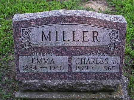 MILLER, CHARLES J. - Meigs County, Ohio | CHARLES J. MILLER - Ohio Gravestone Photos