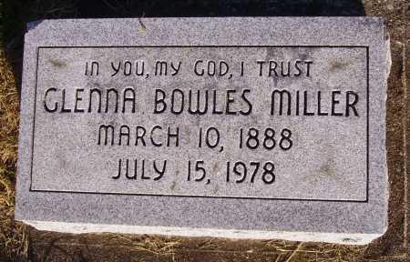MILLER, GLENNA - Meigs County, Ohio | GLENNA MILLER - Ohio Gravestone Photos