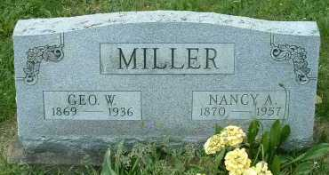 MILLER, GEORGE W. - Meigs County, Ohio | GEORGE W. MILLER - Ohio Gravestone Photos