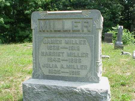 MILLER, HARRIET - Meigs County, Ohio | HARRIET MILLER - Ohio Gravestone Photos