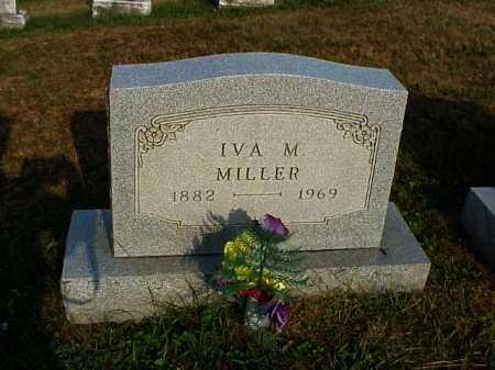 MILLER, IVA M. - Meigs County, Ohio | IVA M. MILLER - Ohio Gravestone Photos
