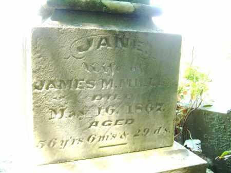 MILLER, JANE - Meigs County, Ohio | JANE MILLER - Ohio Gravestone Photos