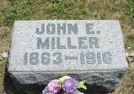MILLER, JOHN E. - Meigs County, Ohio | JOHN E. MILLER - Ohio Gravestone Photos