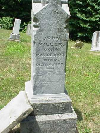 MILLER, JOHN - Meigs County, Ohio   JOHN MILLER - Ohio Gravestone Photos
