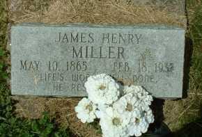 MILLER, JAMES HENRY - Meigs County, Ohio | JAMES HENRY MILLER - Ohio Gravestone Photos