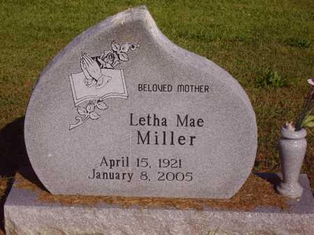 MILLER, LETHA MAE - Meigs County, Ohio   LETHA MAE MILLER - Ohio Gravestone Photos