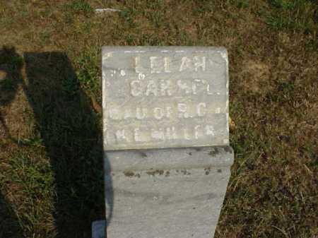 MILLER, LELAH CARMEL - Meigs County, Ohio | LELAH CARMEL MILLER - Ohio Gravestone Photos