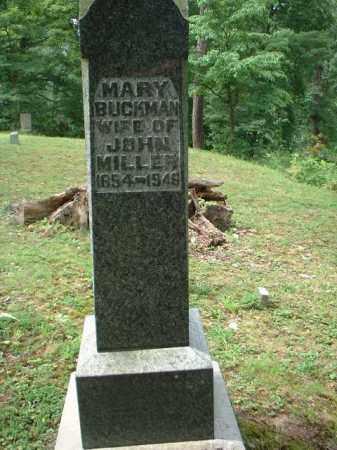 BUCKMAN MILLER, MARY - Meigs County, Ohio | MARY BUCKMAN MILLER - Ohio Gravestone Photos