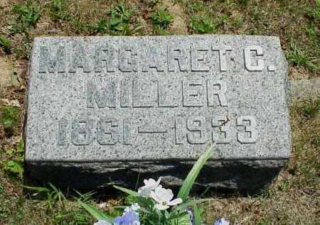 MILLER, MARGARET C. - Meigs County, Ohio   MARGARET C. MILLER - Ohio Gravestone Photos