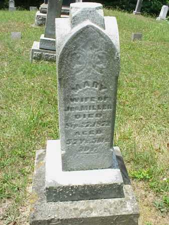 MILLER, MARY - Meigs County, Ohio | MARY MILLER - Ohio Gravestone Photos