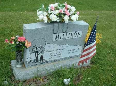 MILLIRON, JAMES M. - Meigs County, Ohio   JAMES M. MILLIRON - Ohio Gravestone Photos