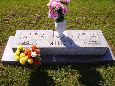 MINOR, J. GERALD - Meigs County, Ohio | J. GERALD MINOR - Ohio Gravestone Photos