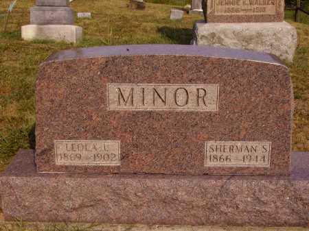 LIVECY MINOR, LEOLA L. - Meigs County, Ohio | LEOLA L. LIVECY MINOR - Ohio Gravestone Photos