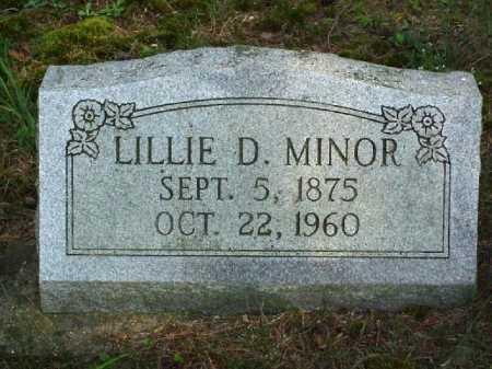LOVE MINOR, LILLIE D. - Meigs County, Ohio | LILLIE D. LOVE MINOR - Ohio Gravestone Photos