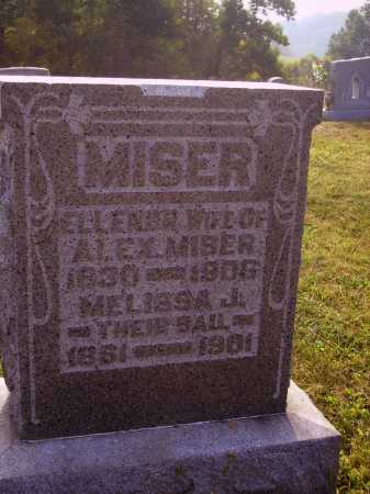 MISER, MELISSA J. - Meigs County, Ohio | MELISSA J. MISER - Ohio Gravestone Photos