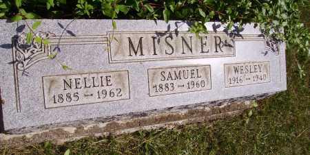 MISNER, SAMUEL HOWARD - Meigs County, Ohio | SAMUEL HOWARD MISNER - Ohio Gravestone Photos