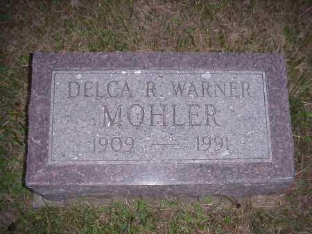 MOHLER, DELCA R. - Meigs County, Ohio | DELCA R. MOHLER - Ohio Gravestone Photos