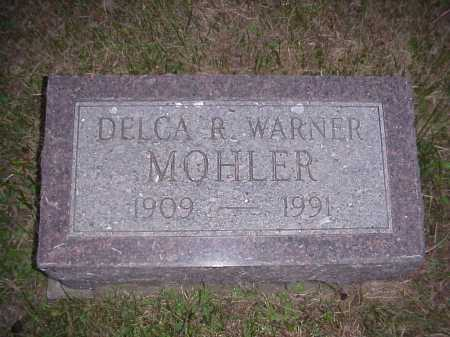 MOHLER, DELCA R. - Meigs County, Ohio | DELCA R. MOHLER - Ohio Gravestone Photos