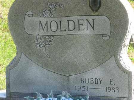 MOLDEN, BOBBY E. - Meigs County, Ohio | BOBBY E. MOLDEN - Ohio Gravestone Photos