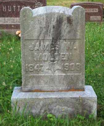 MOLDEN, JAMES W. - Meigs County, Ohio | JAMES W. MOLDEN - Ohio Gravestone Photos