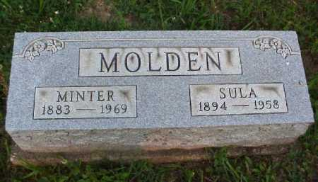 MOLDEN, MINTER - Meigs County, Ohio | MINTER MOLDEN - Ohio Gravestone Photos