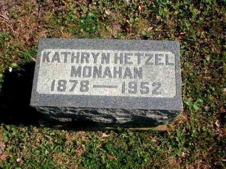 MONAHAN, KATHRYN - Meigs County, Ohio | KATHRYN MONAHAN - Ohio Gravestone Photos
