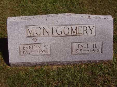 MONTGOMERY, EVELYN W. - Meigs County, Ohio   EVELYN W. MONTGOMERY - Ohio Gravestone Photos