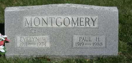 WARD MONTGOMERY, EVELYN - Meigs County, Ohio | EVELYN WARD MONTGOMERY - Ohio Gravestone Photos