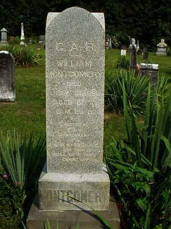 MONTGOMERY, WILLIAM - Meigs County, Ohio | WILLIAM MONTGOMERY - Ohio Gravestone Photos