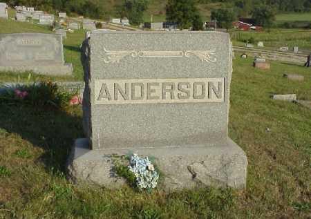 MONUMENT, ANDERSON - Meigs County, Ohio | ANDERSON MONUMENT - Ohio Gravestone Photos