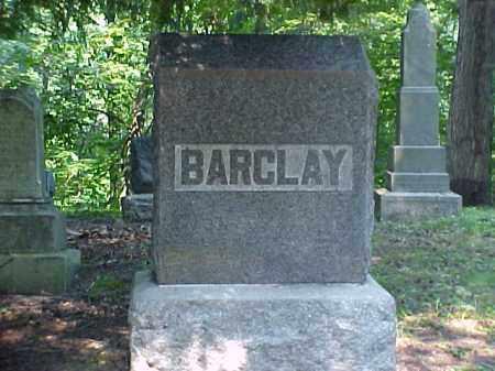 MONUMENT, BARCLAY - Meigs County, Ohio   BARCLAY MONUMENT - Ohio Gravestone Photos
