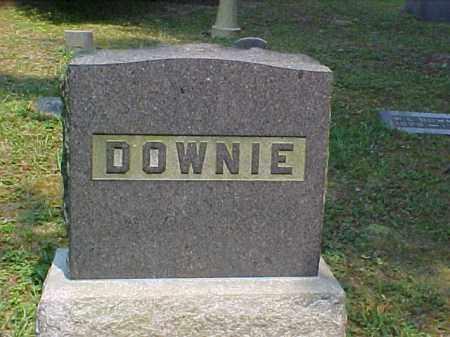 MONUMENT, DOWNIE - Meigs County, Ohio | DOWNIE MONUMENT - Ohio Gravestone Photos