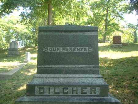 MONUMENT, DILCHER - Meigs County, Ohio   DILCHER MONUMENT - Ohio Gravestone Photos