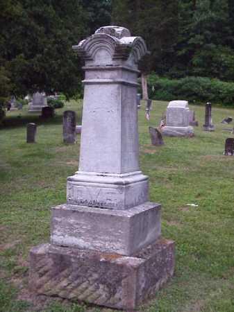 MONUMENT, DYE - Meigs County, Ohio   DYE MONUMENT - Ohio Gravestone Photos