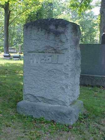 MONUMENT, HYSELL - Meigs County, Ohio | HYSELL MONUMENT - Ohio Gravestone Photos