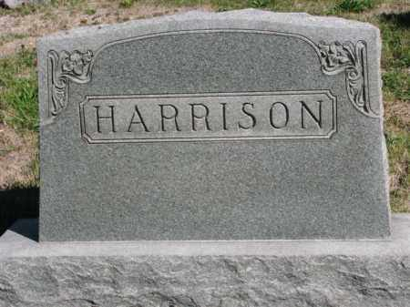 MONUMENT, HARRISON - Meigs County, Ohio | HARRISON MONUMENT - Ohio Gravestone Photos
