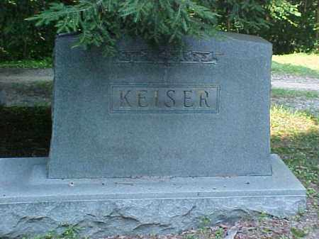 MONUMENT, KEISER - Meigs County, Ohio | KEISER MONUMENT - Ohio Gravestone Photos