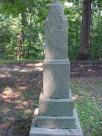 MONUMENT, MASSAR - Meigs County, Ohio | MASSAR MONUMENT - Ohio Gravestone Photos