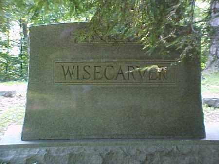 MONUMENT, WISECARVER - Meigs County, Ohio   WISECARVER MONUMENT - Ohio Gravestone Photos
