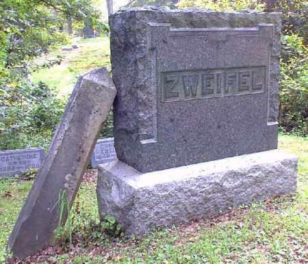 MONUMENT, ZWEIFEL - Meigs County, Ohio | ZWEIFEL MONUMENT - Ohio Gravestone Photos