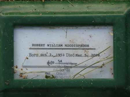 MOODISPAUGH, ROBERT WILLIAM - Meigs County, Ohio | ROBERT WILLIAM MOODISPAUGH - Ohio Gravestone Photos