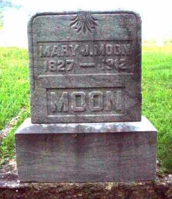 MOON, MARY J. - Meigs County, Ohio | MARY J. MOON - Ohio Gravestone Photos