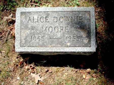 MOORE, ALICE - Meigs County, Ohio | ALICE MOORE - Ohio Gravestone Photos