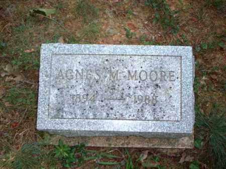 MOORE, AGNES M. - Meigs County, Ohio | AGNES M. MOORE - Ohio Gravestone Photos