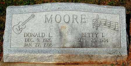 MOORE, DONALD L. - Meigs County, Ohio | DONALD L. MOORE - Ohio Gravestone Photos