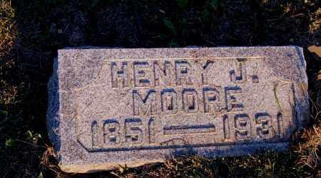 MOORE, HENRY J. - Meigs County, Ohio | HENRY J. MOORE - Ohio Gravestone Photos