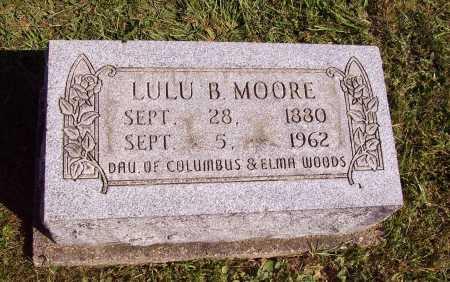 WOODS MOORE, LULU B. - Meigs County, Ohio | LULU B. WOODS MOORE - Ohio Gravestone Photos