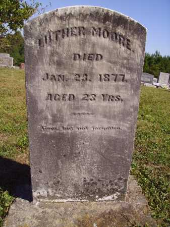 MOORE, LUTHER - Meigs County, Ohio | LUTHER MOORE - Ohio Gravestone Photos