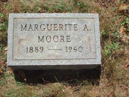 MOORE, MARGUERITE A. - Meigs County, Ohio | MARGUERITE A. MOORE - Ohio Gravestone Photos